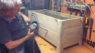 Making a Flowerpot from Pallets