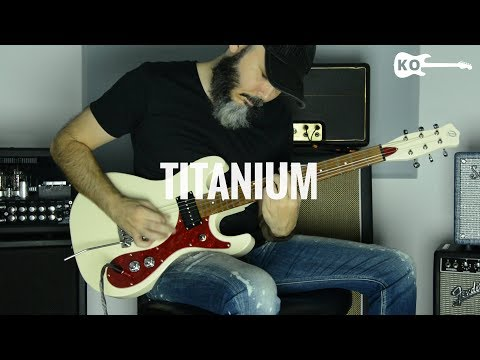 David Guetta Ft. Sia - Titanium - Metal Guitar Cover By Kfir Ochaion