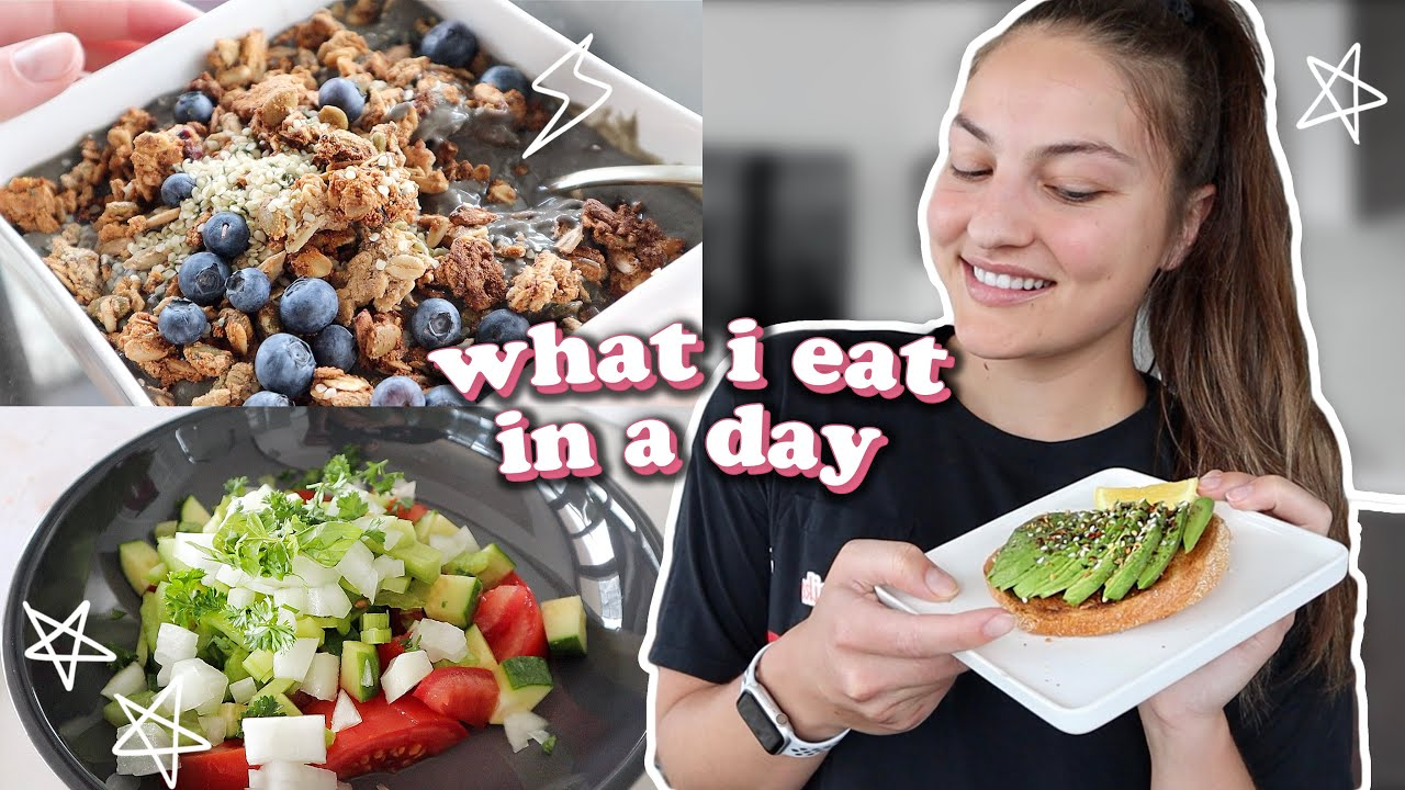 what i eat in a day: VEGAN 🌱 2020