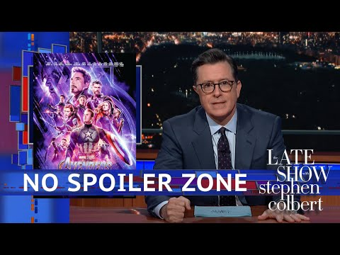 Stephen Saw 'Avengers: Endgame' ...Kind Of