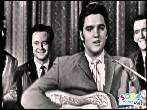 "ELVIS PRESLEY ""Hound Dog"" on The Ed Sullivan Show"