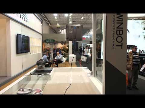 Winbot - window cleaner robot @ IFA Berlin