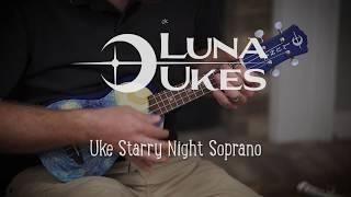 Luna Ukulele Starry Night Soprano