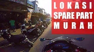 Lokasi belanja Spare part motor murah di jakarta | Guntur Wibowo | Ninja 250 Fi