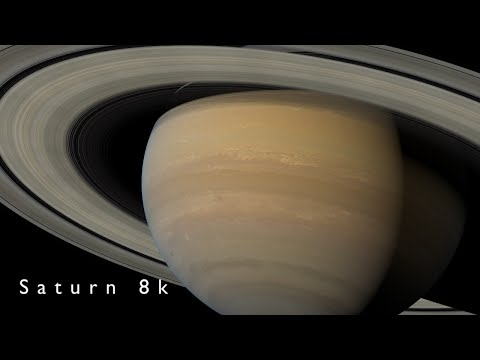 Saturn 8k | Ultra-High definition video