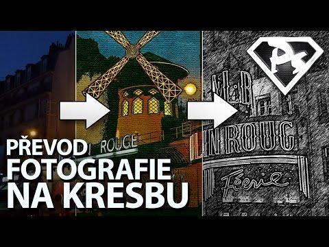 Prevod Fotky Na Kresbu Photoshopove Orgie Youtube