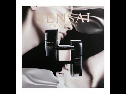 SENSAI FOUNDATIONS. Makeup / Review & Applicazione. - YouTube