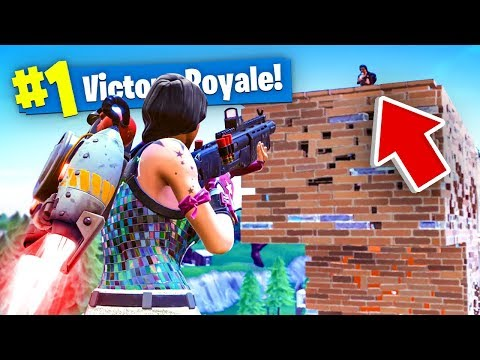 *NEW* JETPACK GAMEPLAY in Fortnite SOLID GOLD V2