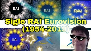Sigle Rai Eurovision 1954-2019