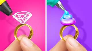 3D-РУЧКА или КЛЕЕВОЙ ПИСТОЛЕТ Крутейшие поделки и простые идеи декора от 123 GO Like