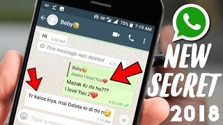 6 New WhatsApp SECRET H DDEN Tricks and Latest Features 2018