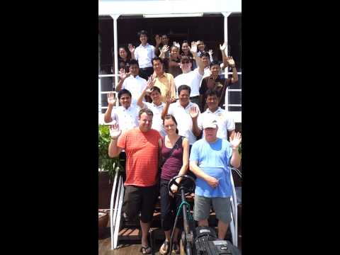 23 Mekong Cruise - Bye Bye to All!