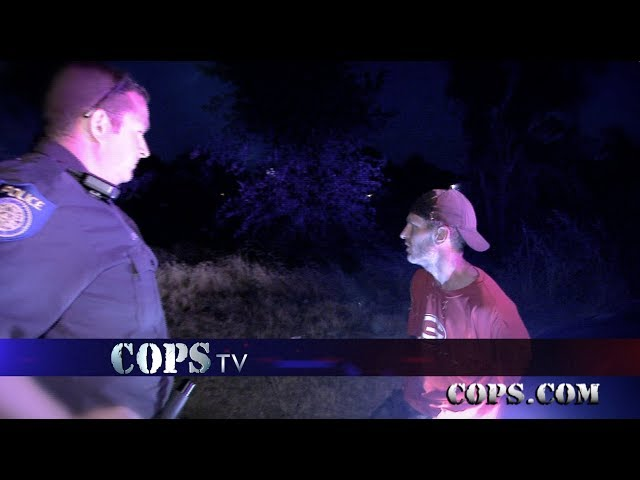 Sorry Guys, Officers Welsh and Wanger, COPS TV SHOW