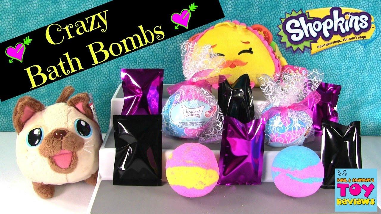 Shopkins Bath Bombs 27 Disney Tsum Tsum Minecraft