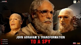 John Abraham's transformation to a SPY | RAW | Jackie | Mouni | Releasing This Friday
