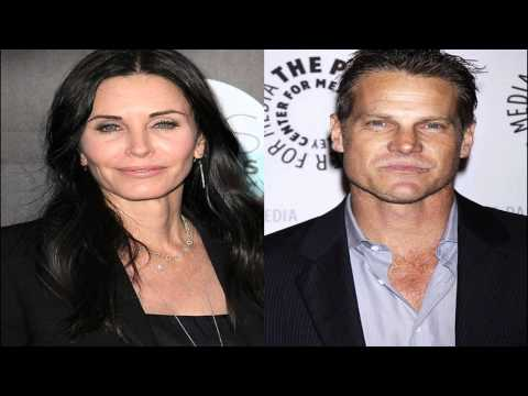 Courteney Cox Reportedly Dating 'Cougar Town' CoStar Brian Van Holt