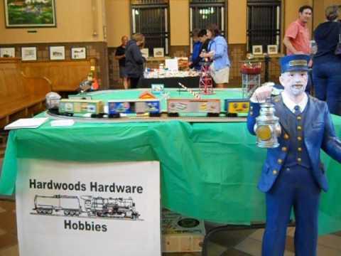 Hardwoods, Hardware, & Hobbies Lionel Display