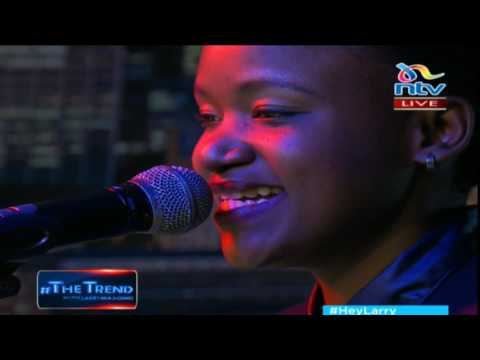 #theTrend: Fena Gitu performs 'Doing Her Thing Tho' LIVE