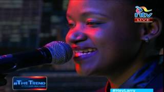 thetrend fena gitu performs doing her thing tho live