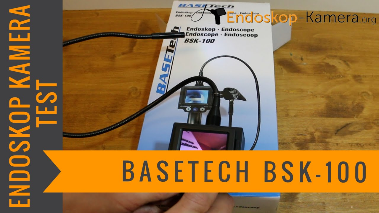 basetech bsk 100 endoskop kamera test youtube. Black Bedroom Furniture Sets. Home Design Ideas