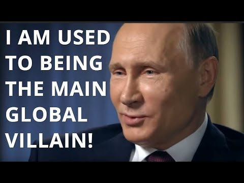 LIKE THE BOSS Putin: What's It Like To Be The Main Global Villain? I Don't Know, Ask The Villains