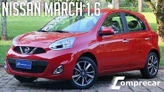 Avaliação: Nissan March 1.6 SL automático