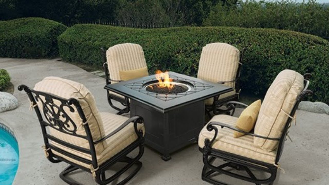 Brown Jordan Patio Furniture Lemont Youtube
