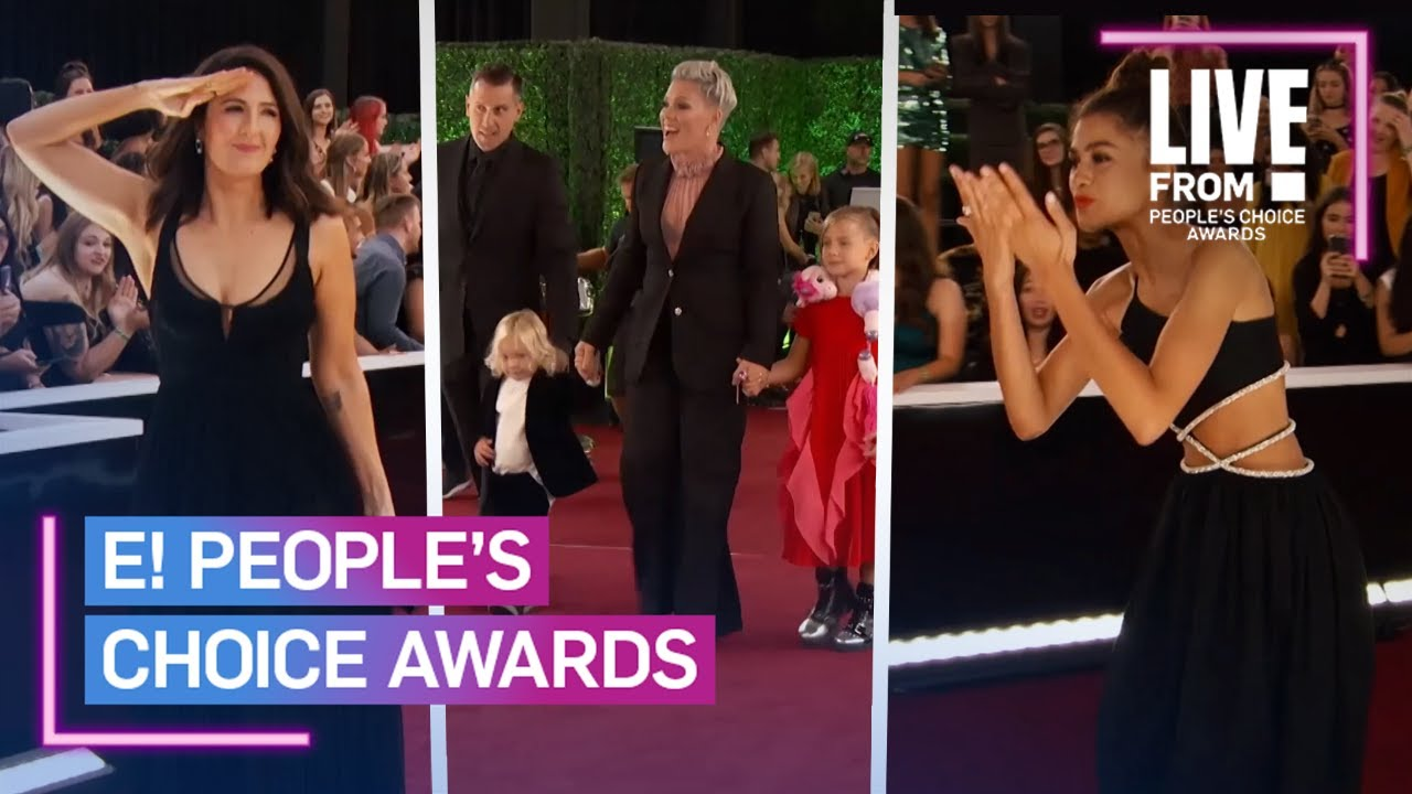 Celebs Greet Fans on the 2019 PCAs Red Carpet | E! People's Choice Awards