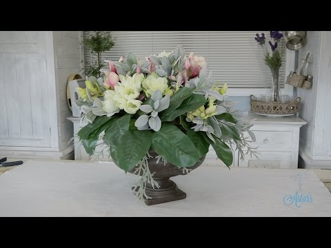 flowers-&-floristry-tutorial:-round-dining-table-artificial-arrangement