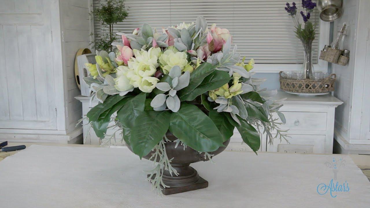 Dining Table Flower Arrangements - [peenmedia.com]
