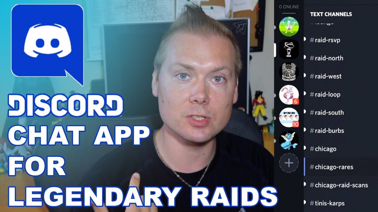 DISCORD - HOW TO COORDINATE RAIDS IN POKEMON GO