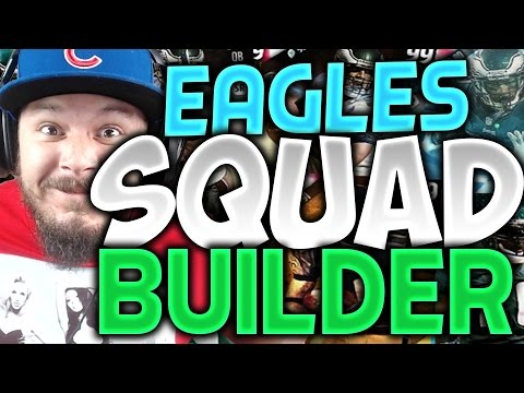 ALL-TIME PHILADELPHIA EAGLES SQUAD BUILDERS & GAMEPLAY | MADDEN 16 ULTIMATE TEAM