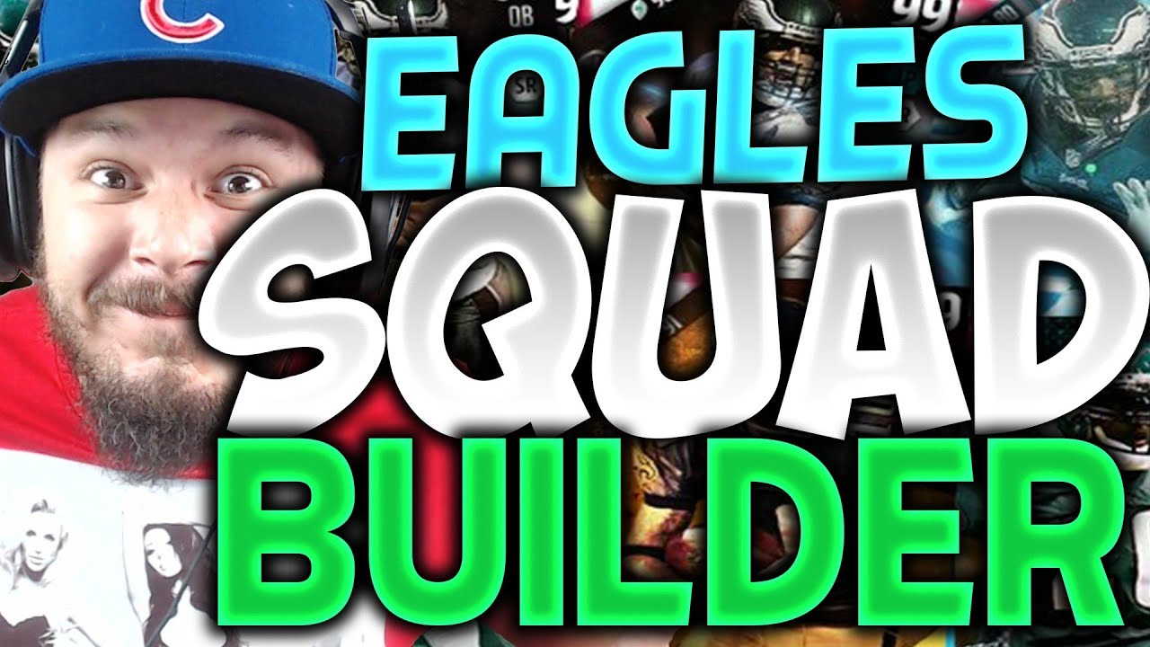 ALL-TIME PHILADELPHIA EAGLES SQUAD BUILDERS & GAMEPLAY ...