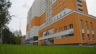 Новый студенческий корпус УрФУ (ул. Комсомольская, 70)