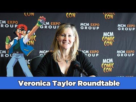 Veronica Taylor (Ash Ketchum) MCM Roundtable | Airlim
