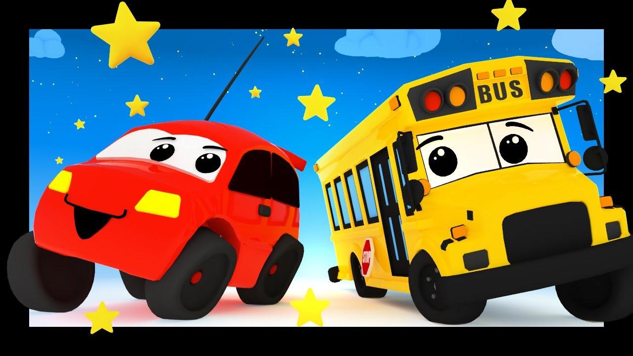 La chanson des voitures et des véhicules pour nos bébés TITOUNIS - Les roues de l'autobus