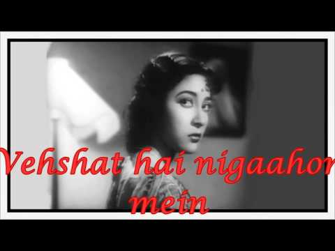 Ab Kahaan Jaayen Ham (UJALA 1958) miscelltracks hindi karaoke