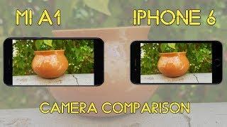 MI A1 vs iPhone 6 CAMERA COMPARISON