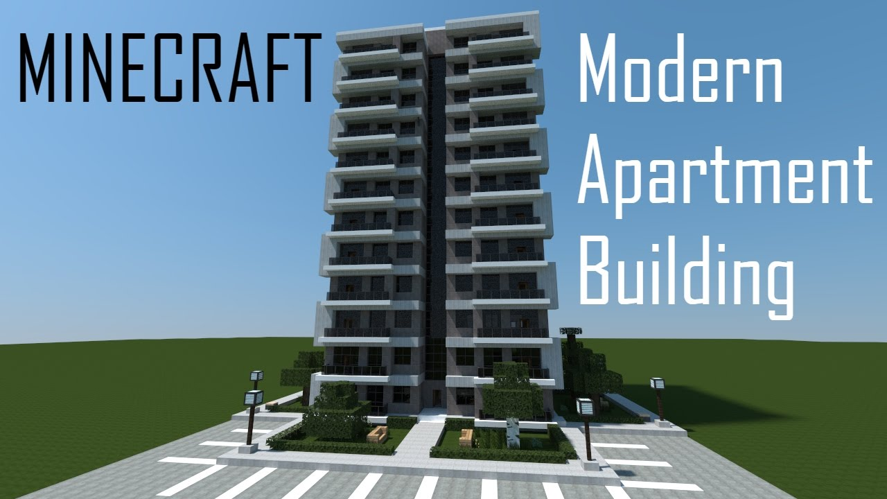 Minecraft Modern Apartment Building + Download