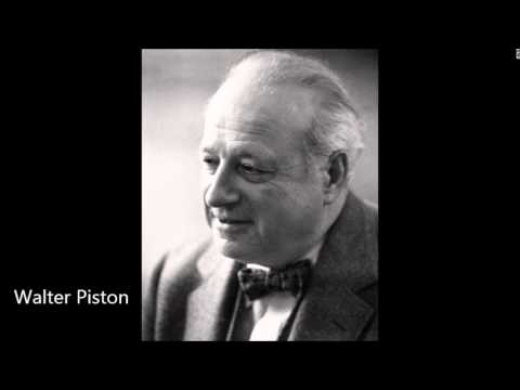Piston Violin Sonata, played by Louis Krasner and the composer (1939)