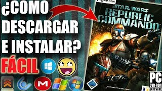 Descargar STAR WARS: Republic Commando para PC en español FÁCIL (FULL)