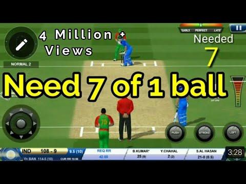 Bhuvi saves India!! | Real Cricket 18 |