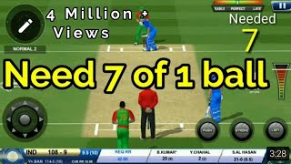 Bhuvi saves India!! | Real Cricket 18 |