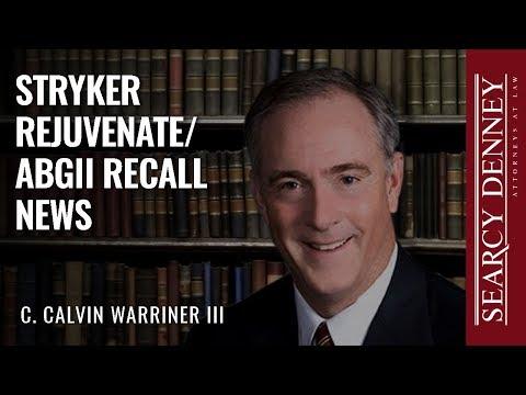 Stryker Rejuvenate/ABGII Recall News