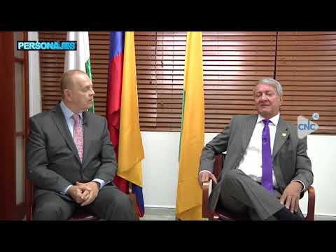 Programa Personajes del canal CNC: Invitado el Rector Libardo Álvarez Lopera