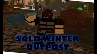 Solo Winter Outpost Nightmare,Hardcore | Dungeon Quest | Roblox