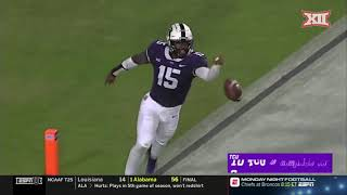 Iowa State vs TCU Football Highlights