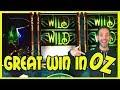 🏠🌪 Great WIN in OZ 🐶🏅 ✦ WIZ + Wonder 4 Tall Fortunes ✦ Slot Machine Pokies w Brian Christopher