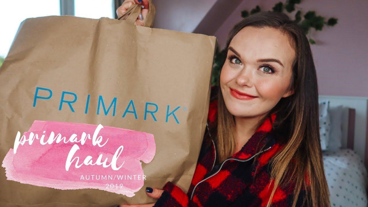 [VIDEO] - PRIMARK HAUL - AUTUMN / WINTER 2019 8