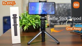 Mi Selfie Stick Tripod Bluetooth Remote | पाइए अब केवल ₹ 899/- में | GIVEAWAY